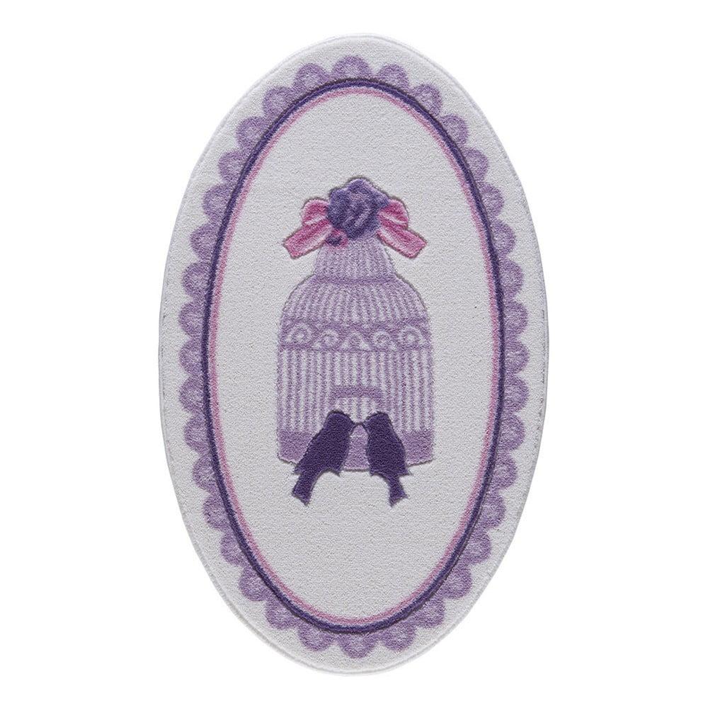 Koupelnová předložka Confetti Bathmats Birdcage, 80 x 130 cm
