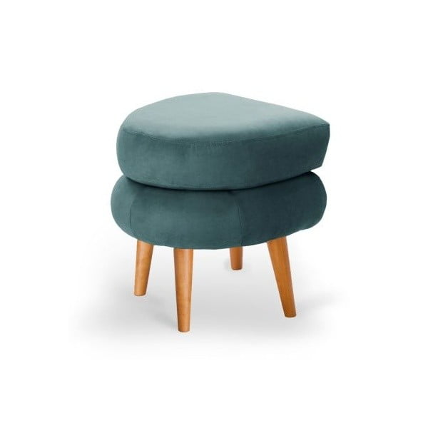 Turkusowozielony taboret Scandi by Stella Cadente Maison Supernova