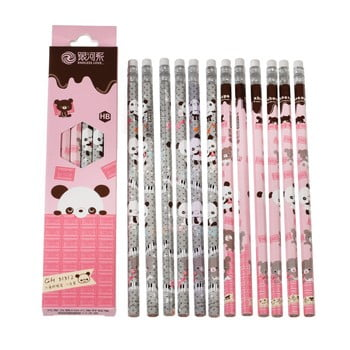 Set 12 creioane Rex London Panda imagine