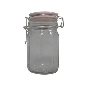 Borcan din sticlă Antic Line Spices, înălțime 12 cm