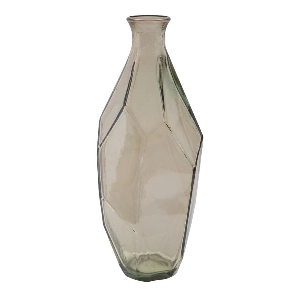 Kouřově šedá váza z recyklovaného skla Mauro Ferretti Ambra, ⌀ 12 cm Mauro Ferretti