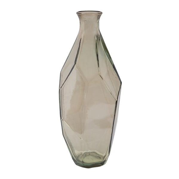 Ambra füstszürke újrahasznosított üveg váza, ⌀ 12 cm - Mauro Ferretti