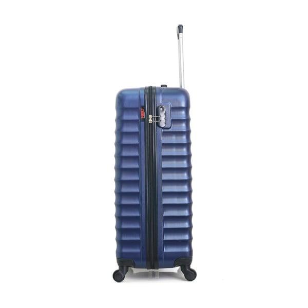 Tmavě modrý cestovní kufr na kolečkách Hero Meropi, 60 l
