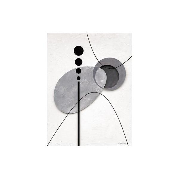 Obraz na plátně Levitating Elements 60x80 cm