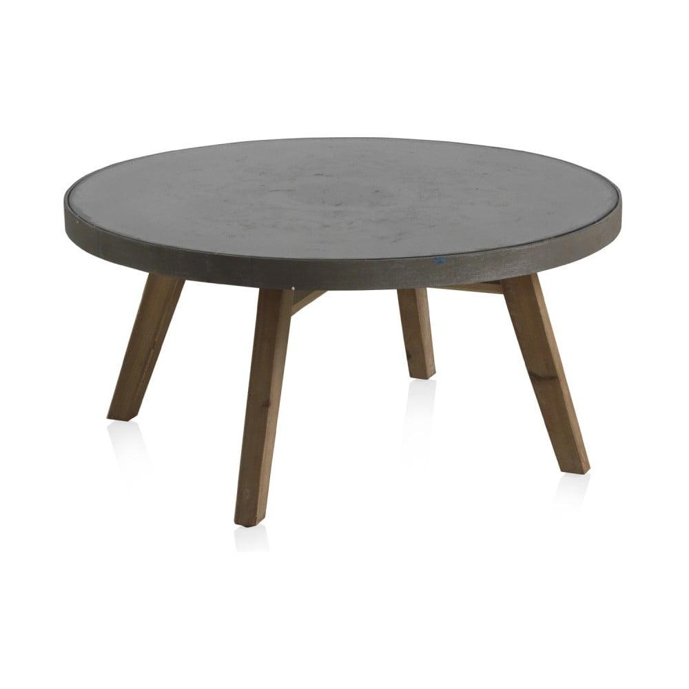 Šedý konferenční stolek Geese Brugge
