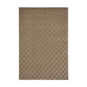 Hnědý koberec Mint Rugs Shine Karro, 200 x 300 cm