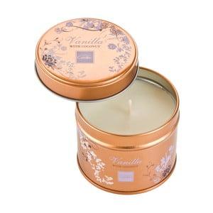 Aroma svíčka v plechovce Vanilla with Coconut, doba hoření 32 hodin
