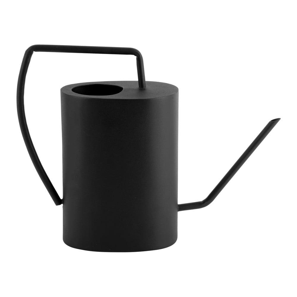 Černá kovová konvička PT LIVING Grace, výška27cm