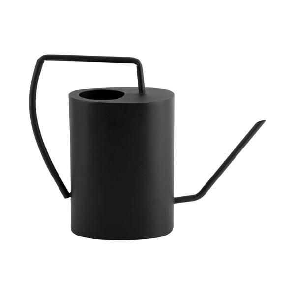 Czarna metalowa konewka PT LIVING Grace, wys. 27 cm