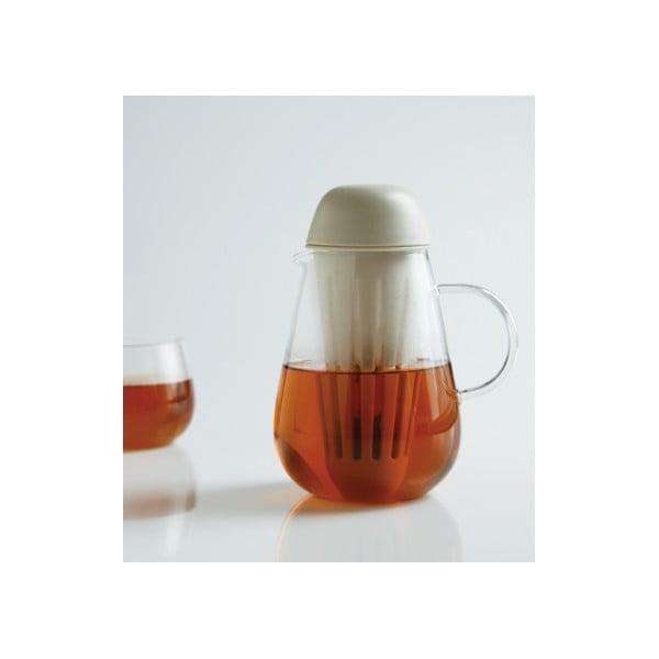 Hnědá konvice na čaj Kinto Pengy, 720 ml
