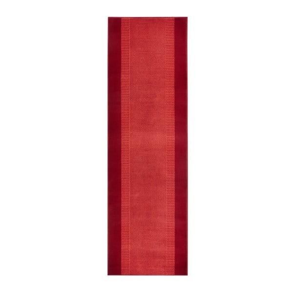 Covor Basic, 80x400 cm, roșu