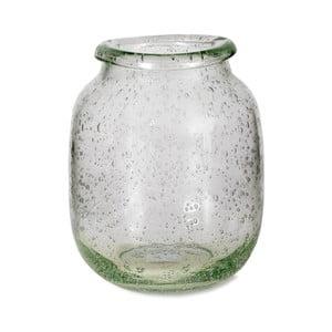 Váza z recyklovaného skla Garden Trading Sennen, ⌀16cm