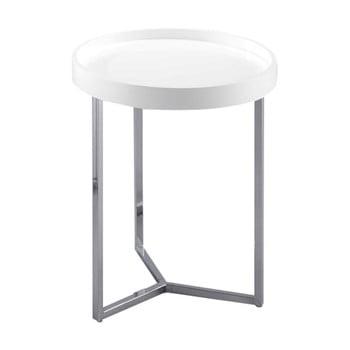 Măsuță auxiliară Design Twist Tallin, alb de la Design Twist