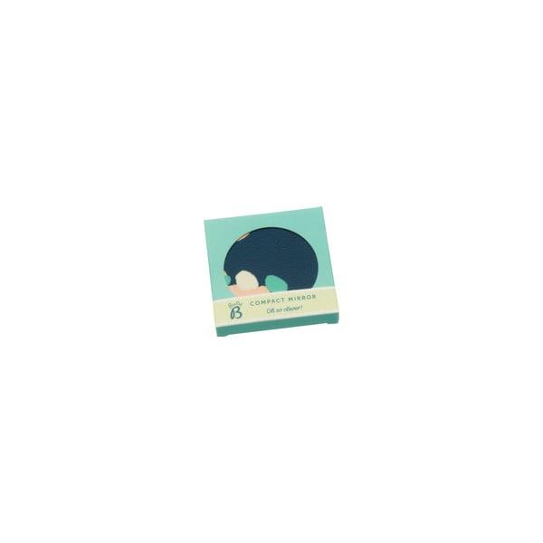 Modré kompaktní zrcátko BusyB