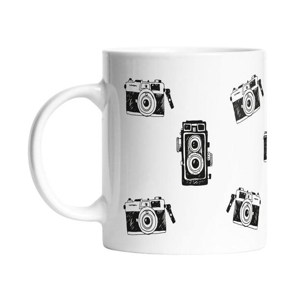 Hrnek Black Shake Collection Of Cameras, 330ml