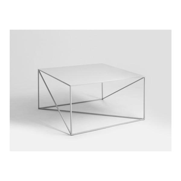 Memo szürke dohányzóasztal, 100 x 100 cm - Custom Form
