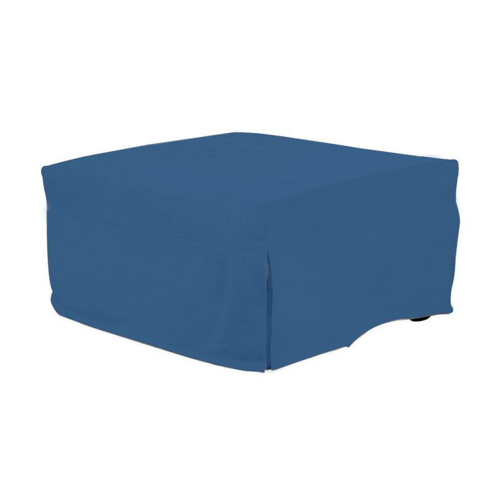 Modrý rozkládací puf/lůžko 13Casa Evelin