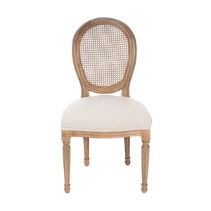 Hnědá židle Versailles, šedá