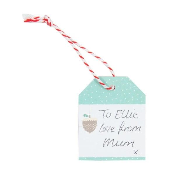 Etichete cu nume pentru darurile de Crăciun Busy B
