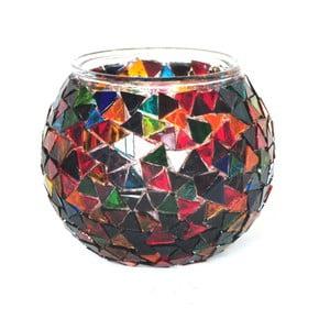 Suport din sticlă pentru lumânare Homemania Oriental