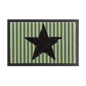Rohožka Zala Living STar Stripes Green, 40 x 60 cm
