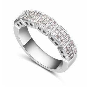Prsten s krystaly Swarovski Cortado, velikost 52