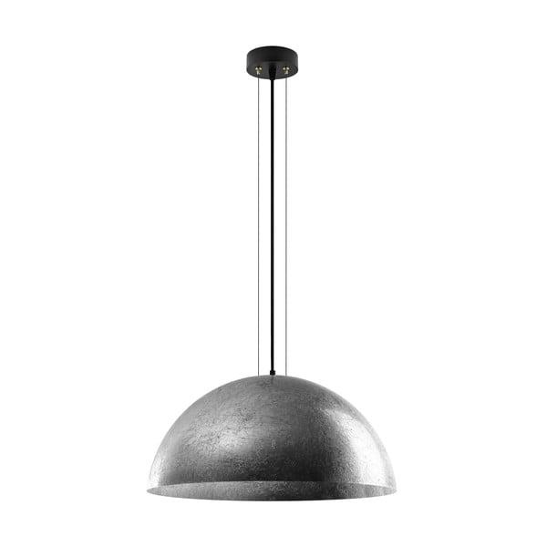 Stříbrná závěsná lampa Bulb Attack Cuatro XL