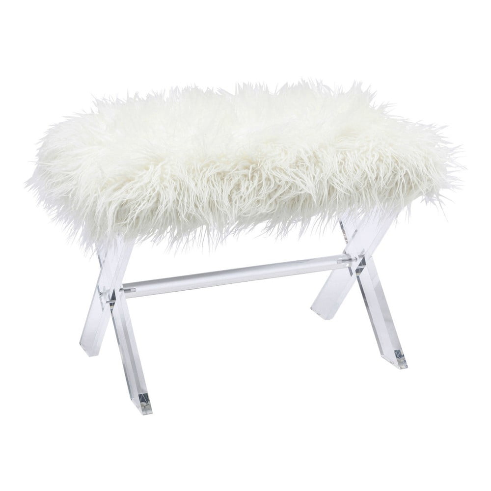 Bílá stolička Kare Design Visible