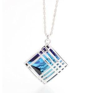 Náhrdelník s krystaly Swarovski Elements Laura BruniCage