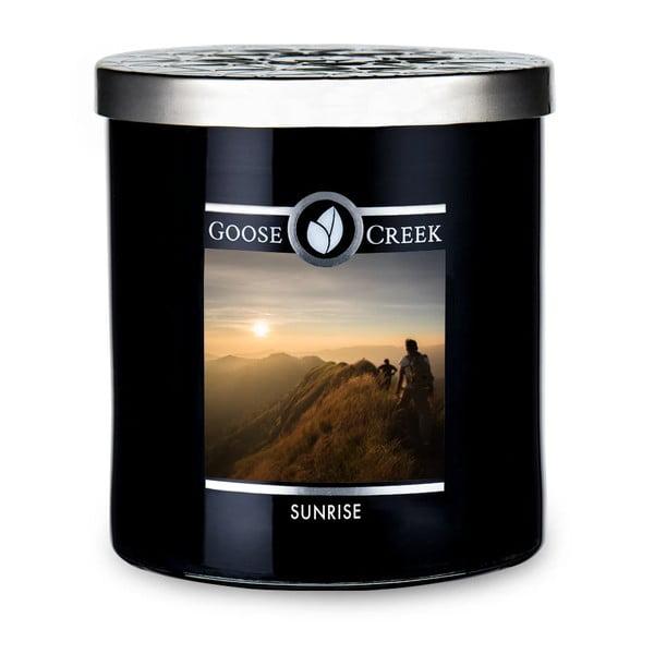 Świeczka zapachowa w szklanym pojemniku Goose Creek Men's Collection Sunrise, 50 godz. palenia