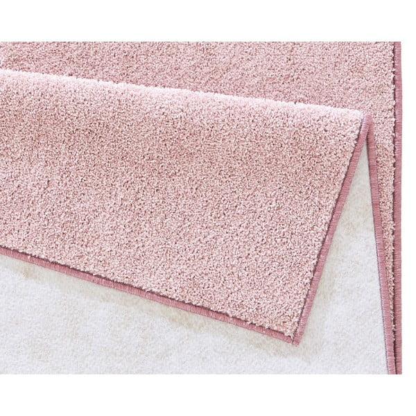 Růžový koberec Hanse Home Pure, 140x200cm