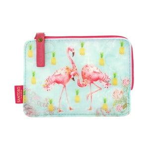 Malá peněženka Tropical Flamingos