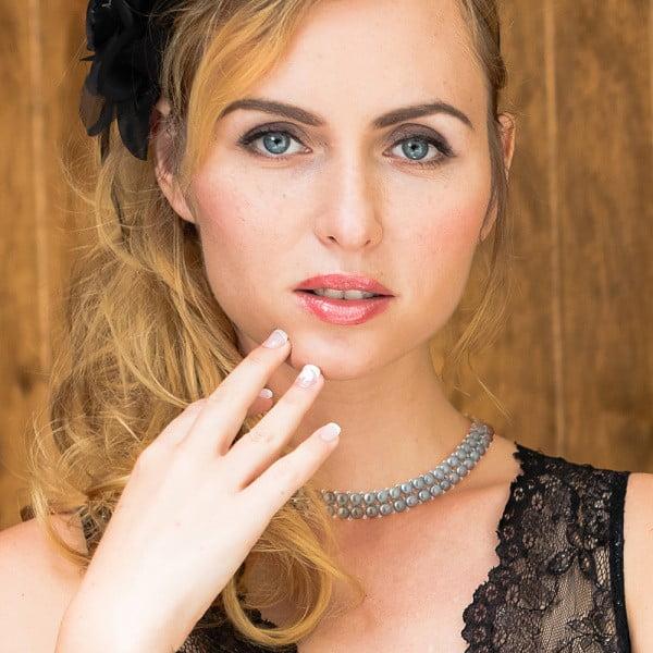 Náhrdelník s říčními perlami Valentinos