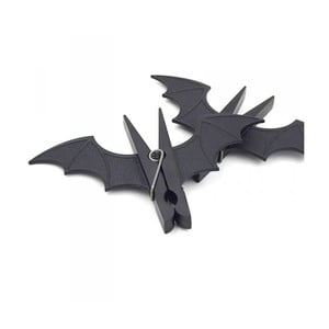 Sada 2 kolíčků na prádlo ve tvaru netopýra Gift Republic Bat