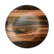 Farfurie din ceramică Wood, ⌀ 25 cm