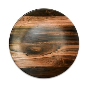 Keramický talíř Wood, ⌀25cm
