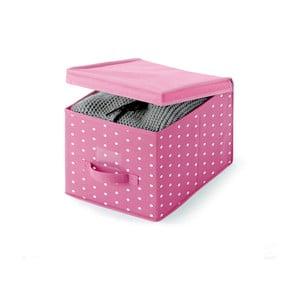 Růžový úložný box Cosatto Pinky, 45 x 30 cm