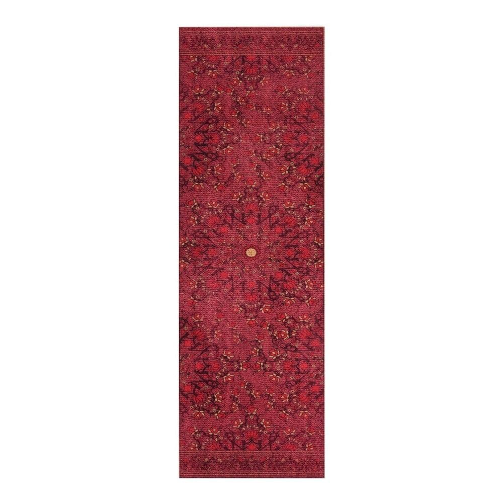 Červený běhoun Hanse Home Cook & Clean Sabrina, 60x180cm
