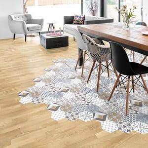 Set 10 autocolante impermeabile pentru podea Ambiance Xenia