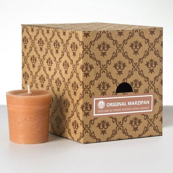 Sada 12 vonných svíček Original Marzipan, 15 hodin hoření