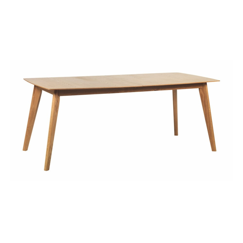 Dubov rozkl dac j deln st l folke frey d lka 190 cm for Holztisch ausziehbar