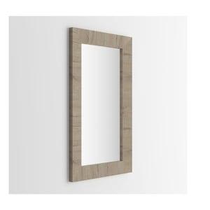 Zrcadlo v dekoru krémového dubu MobiliFiver Giuditta, 65x110cm