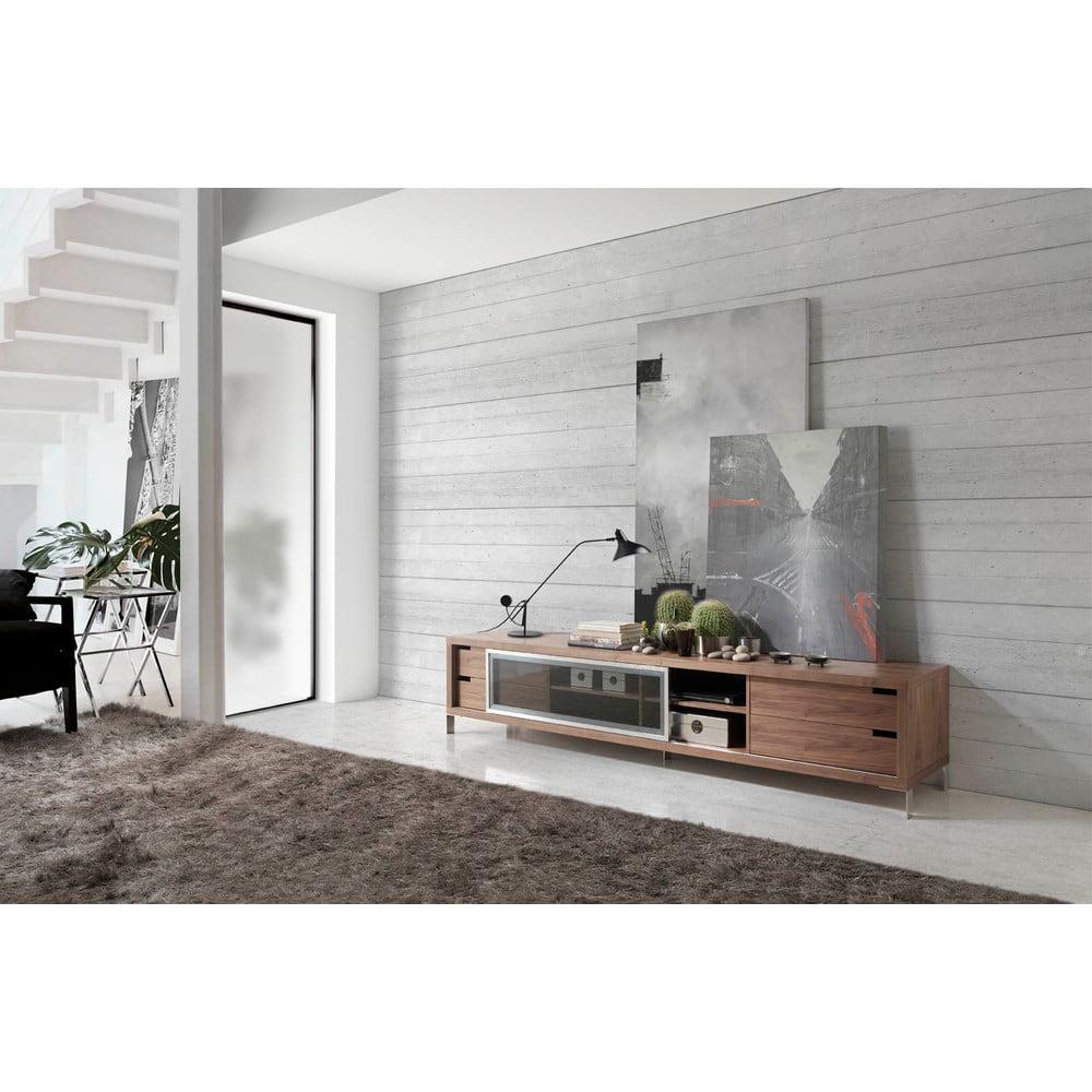 tv stolek ngel cerd walnut display bonami. Black Bedroom Furniture Sets. Home Design Ideas