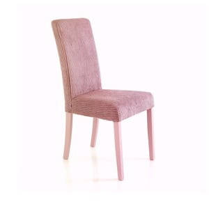 Sada 2 světle růžových jídelních židlí Tomasucci Mary