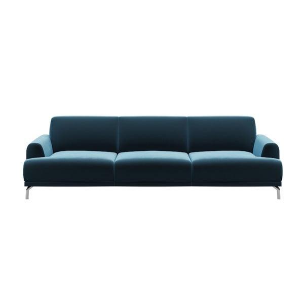 Puzzo kék háromszemélyes kanapé - MESONICA
