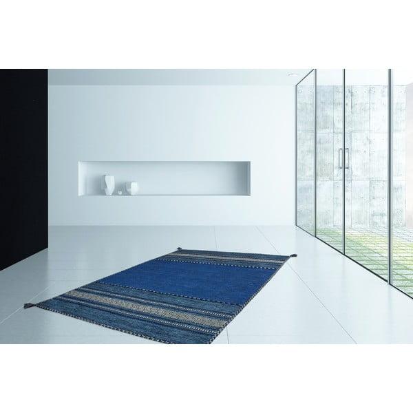 Koberec Native 325 Blue, 80x150 cm