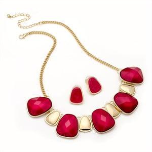 Set náhrdelník a náušnice Cora