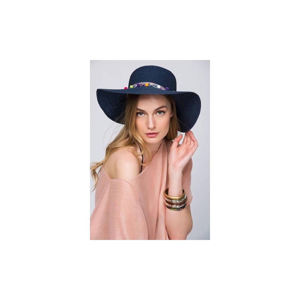 Tmavě modrý dámský klobouk NW Queen  e9d13c5d8c