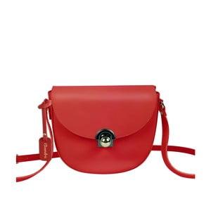 Červená kožená kabelka Maison Bag Gil