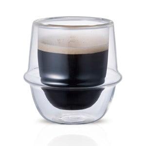 Espresso hrnek s dvojitým sklem Kinto Kronos